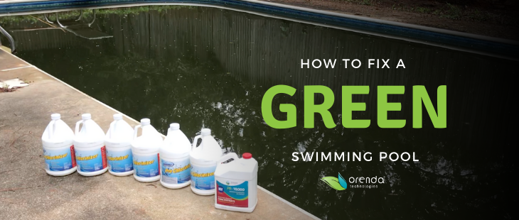 how to fix a green pool, green pool, orenda green pool, PR-10,000, clean a green pool fast, fix a green pool fast