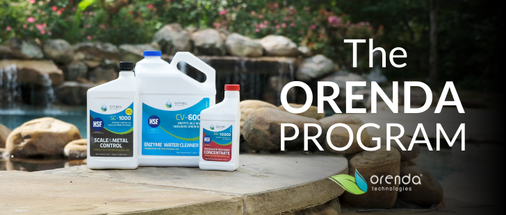 orenda pool, orenda program, orenda chemicals, orenda products, PR-10,000, SC-1000, CV-600, best pool chemical, NSF pool chemical