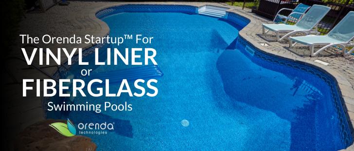 fiberglass swimming pool, vinyl swimming pool, vinyl liner pool, fill a fiberglass pool, fill a vinyl liner pool, pool chemistry, pool startup